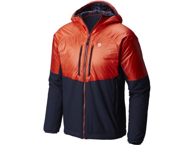 Mountain Hardwear Kor Strata Alpine Hood Jacket Herren fiery red